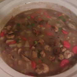 Slow Cooker Beef, Barley, and Mushroom Stew Jessica Warden