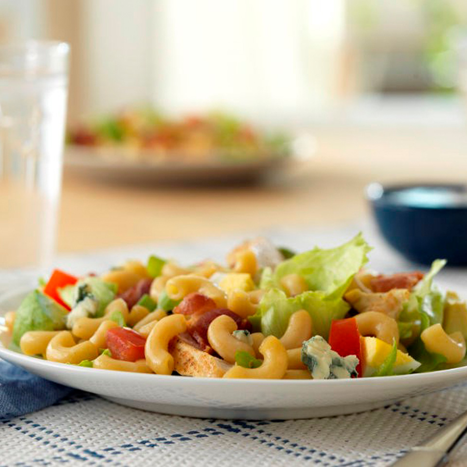 Ready Pasta Cobb Salad with Ready Pasta Elbows