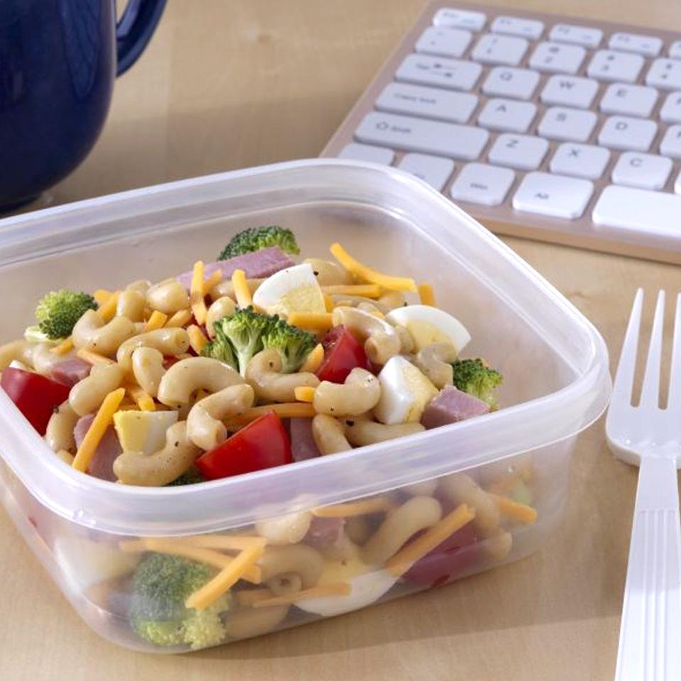 Lunchbox Broccoli and Ham Salad