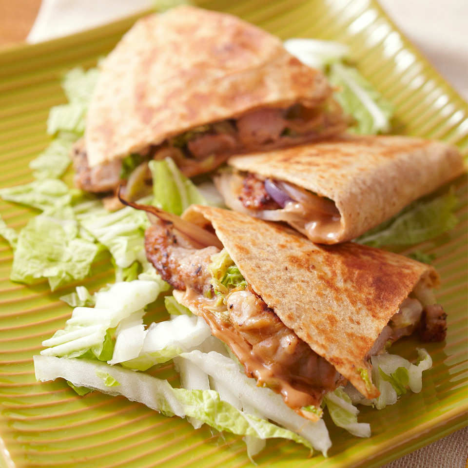 Asian Pork Quesadillas Diabetic Living Magazine