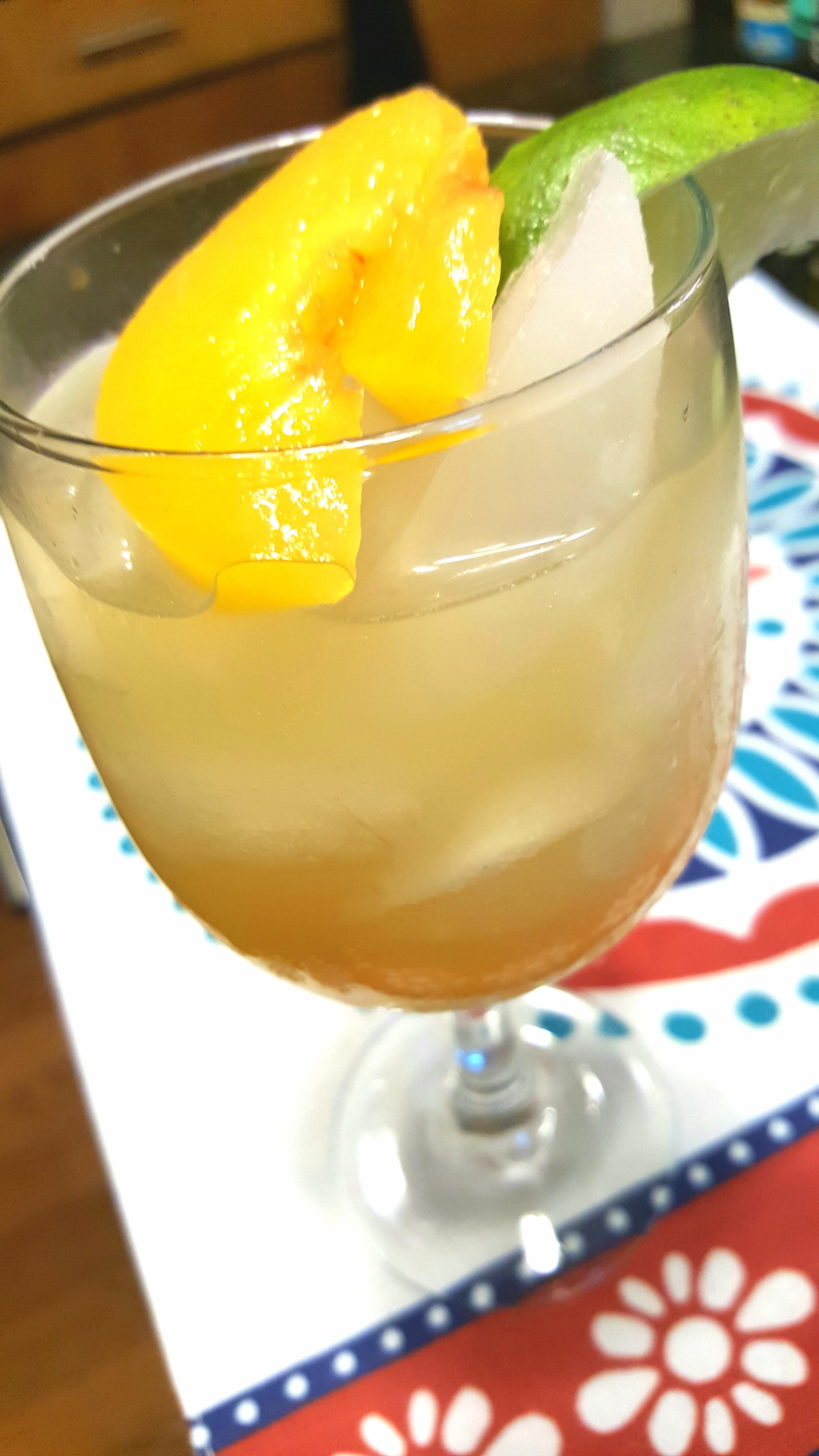Peach-Pineapple Sangria Sheila LaLonde