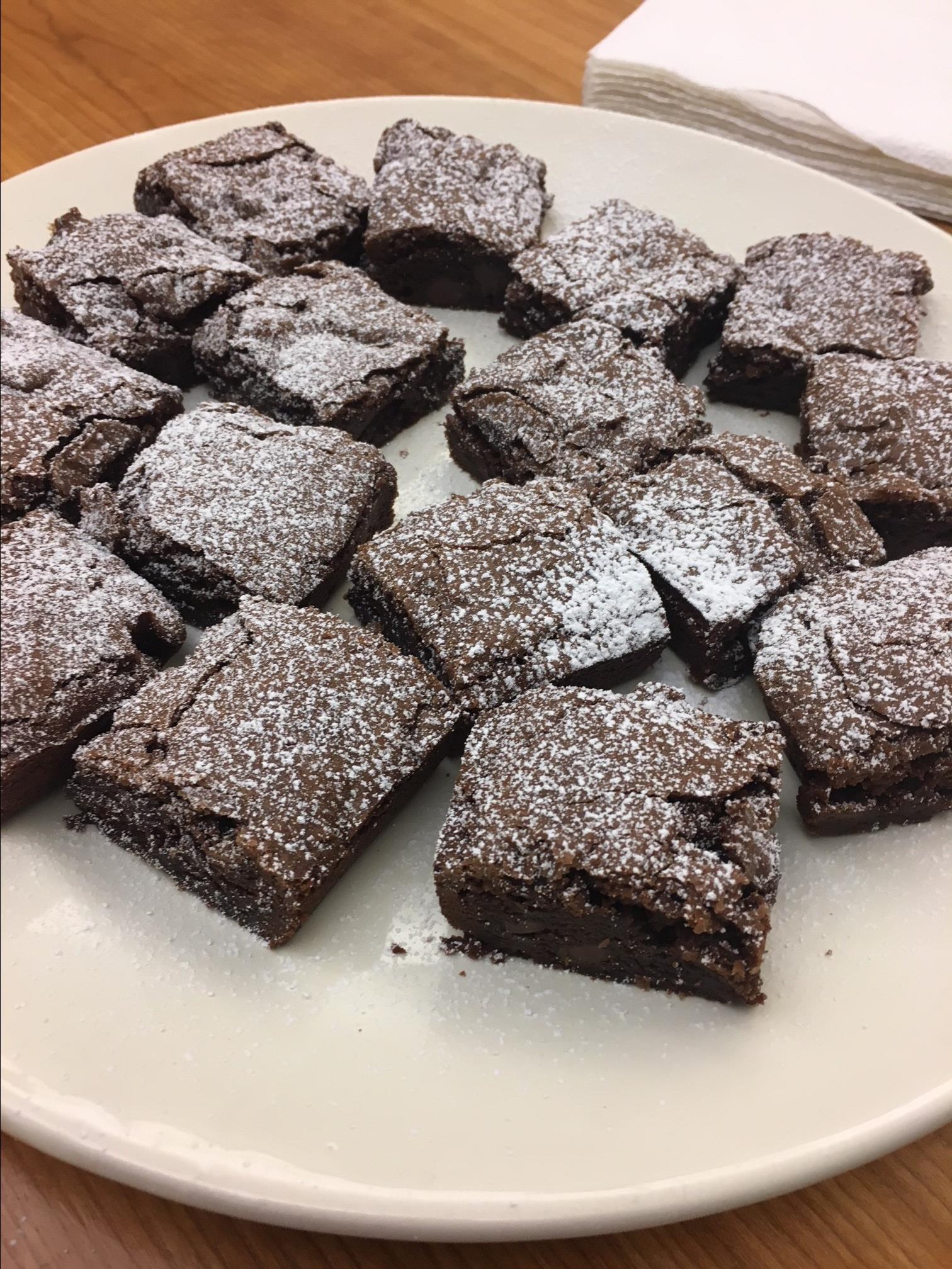 Dark Chocolate Passover Brownies