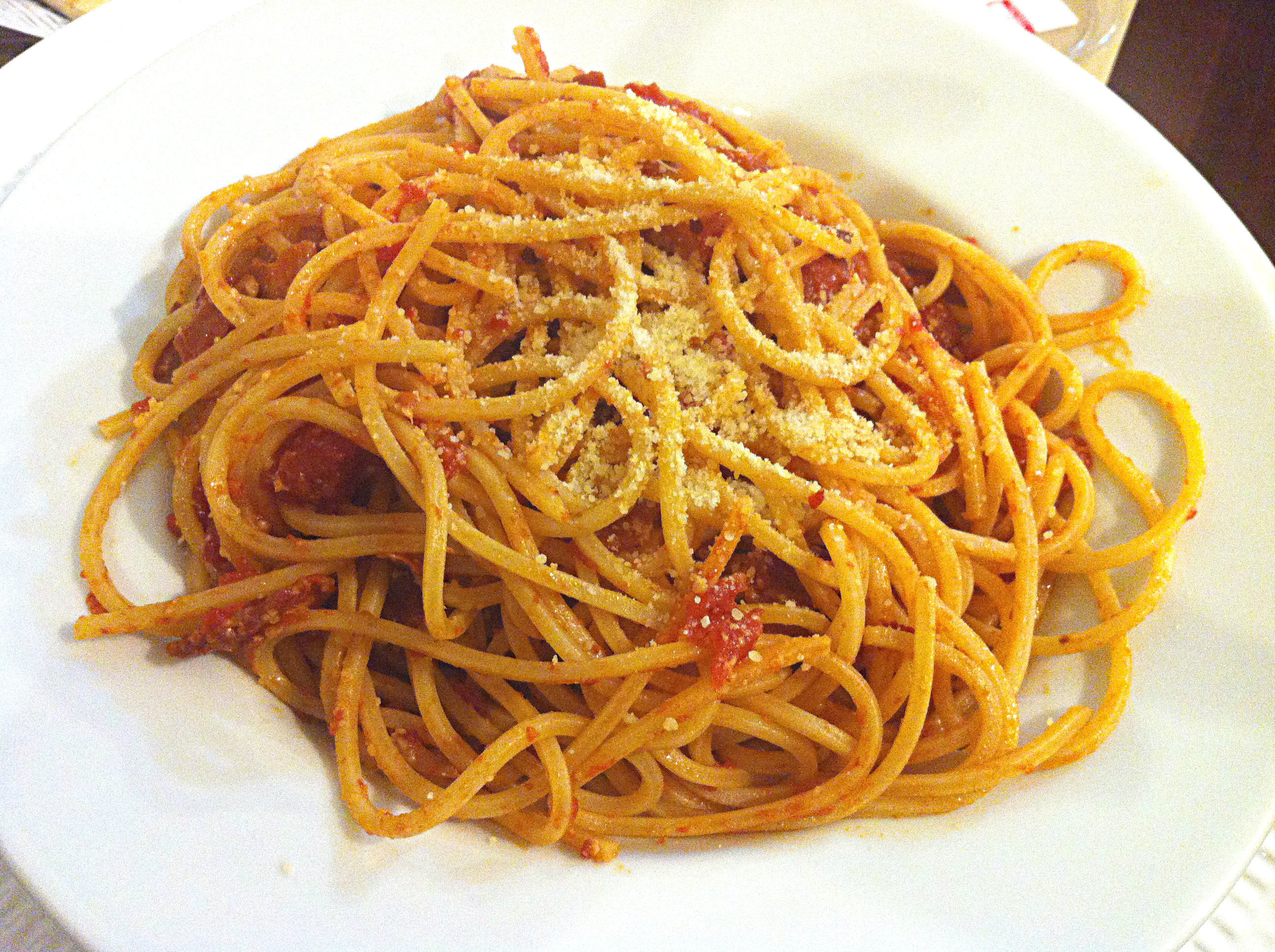 Traditional Spaghetti all'Amatriciana AllrecipesPhoto