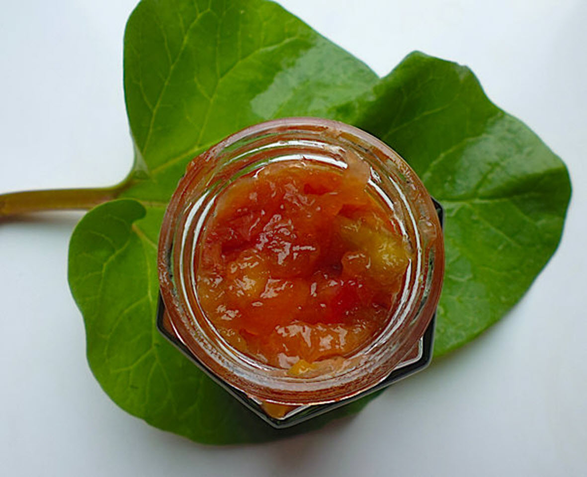 Rhubarb Apricot Jam