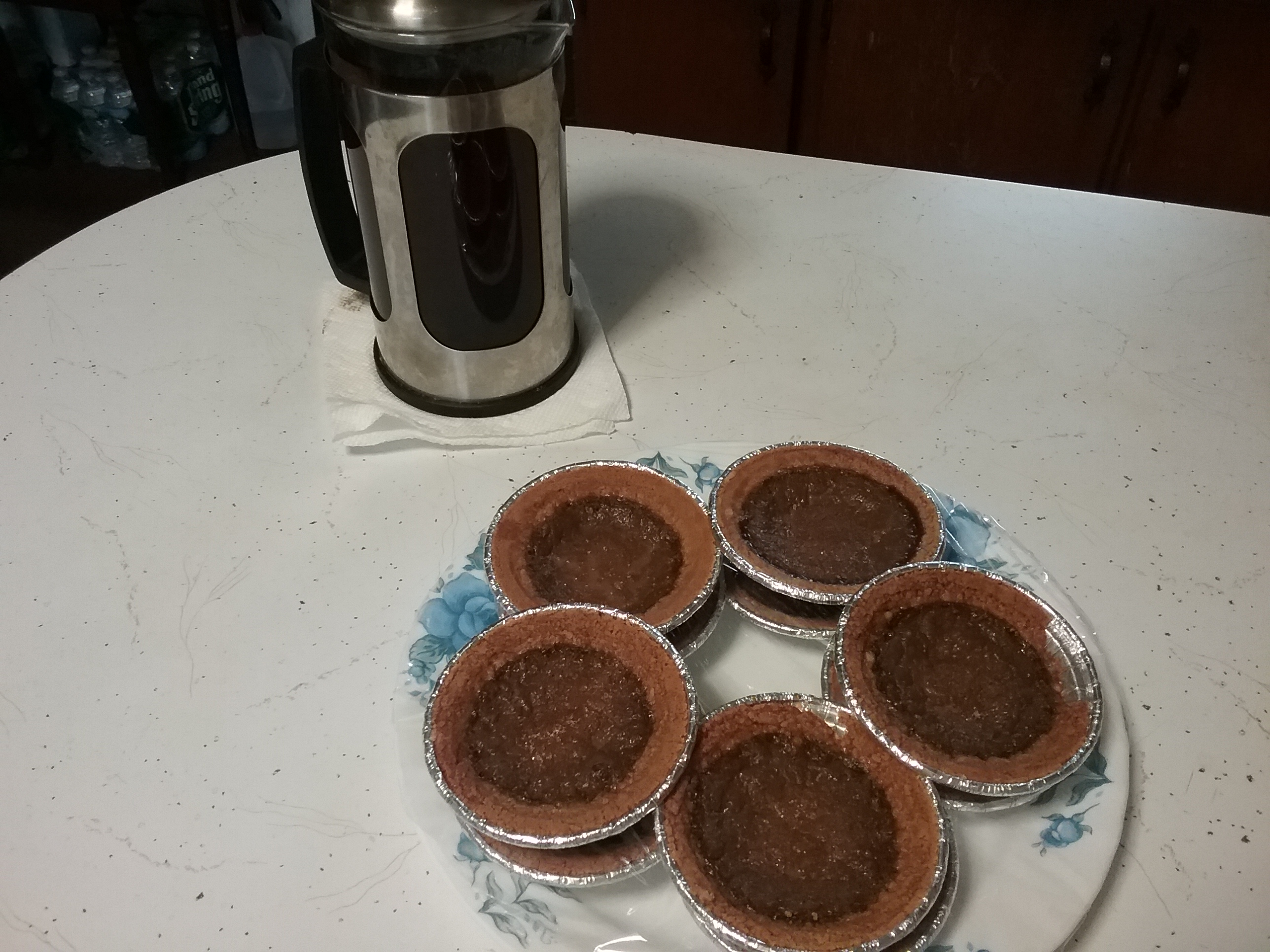 Cappuccino Tarts mebyrne