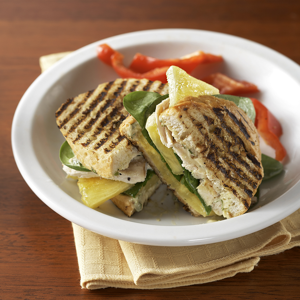 Chicken Panini with Cilantro Mayonnaise Diabetic Living Magazine