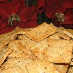 NY Style Rye Crackers Trish Beier