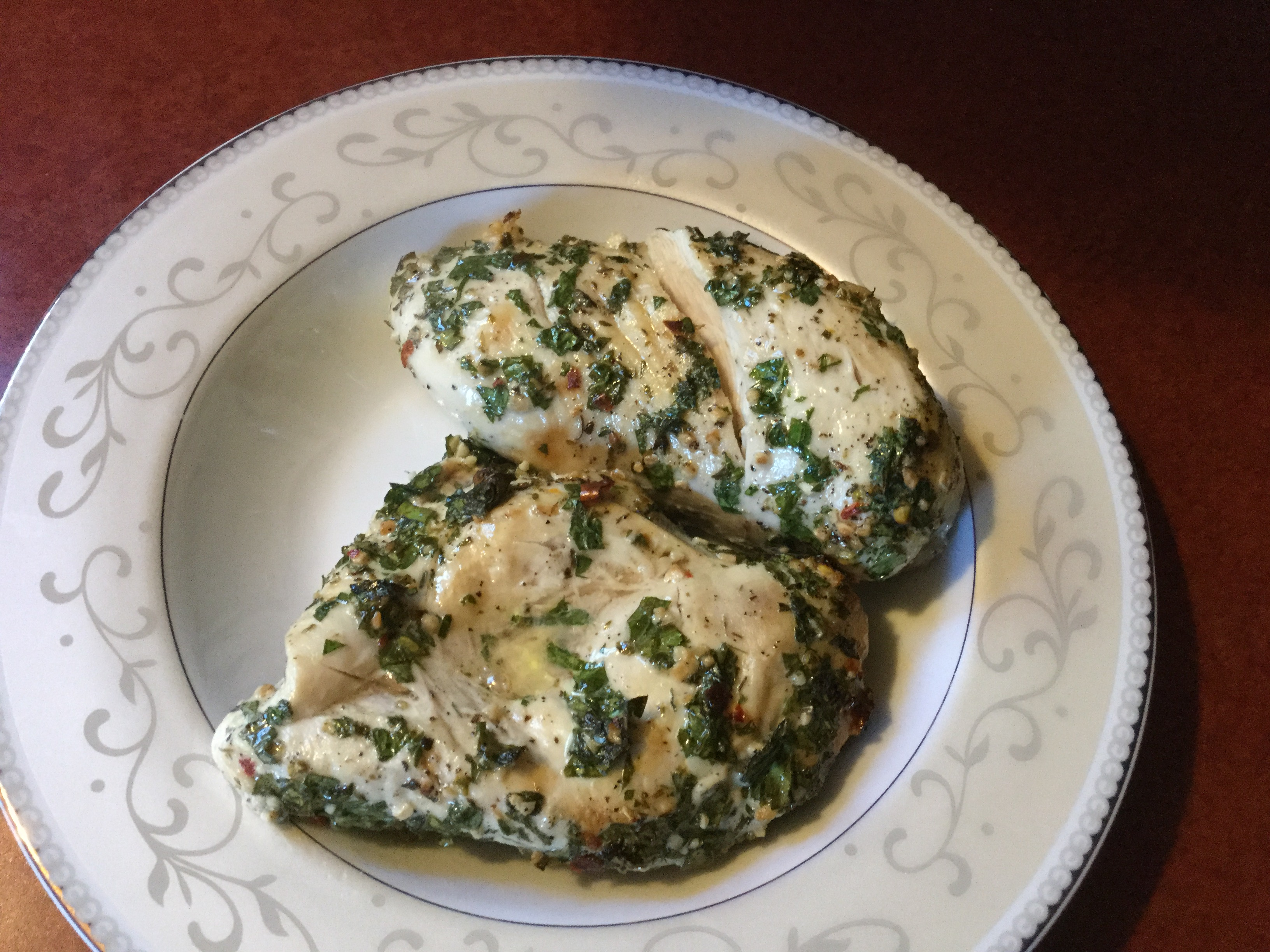 Chimichurri Baked Chicken