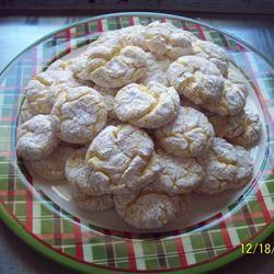 Lemon Snowflake Cookies parkersmommy2008