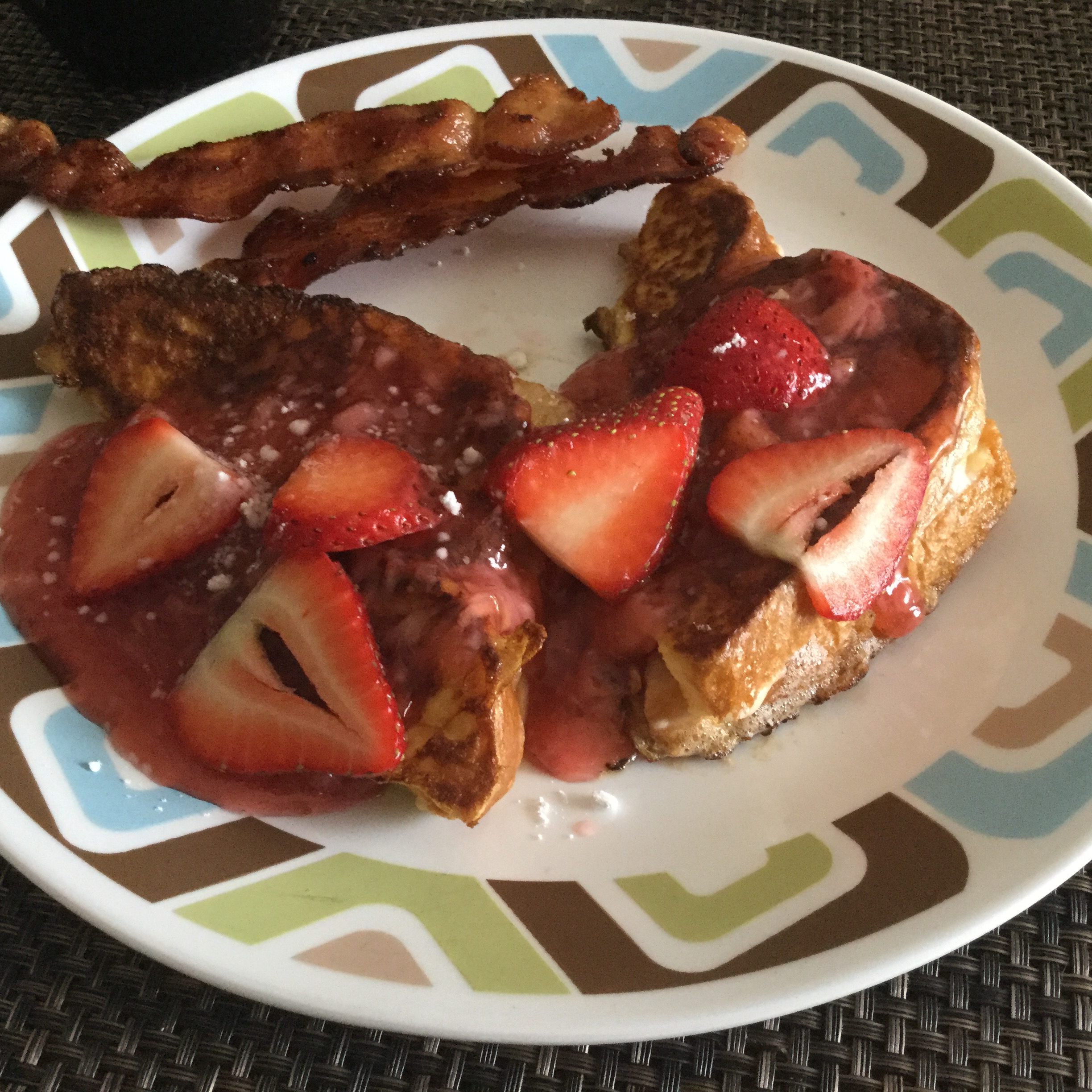 Strawberry Cheesecake French Toast Chef Me