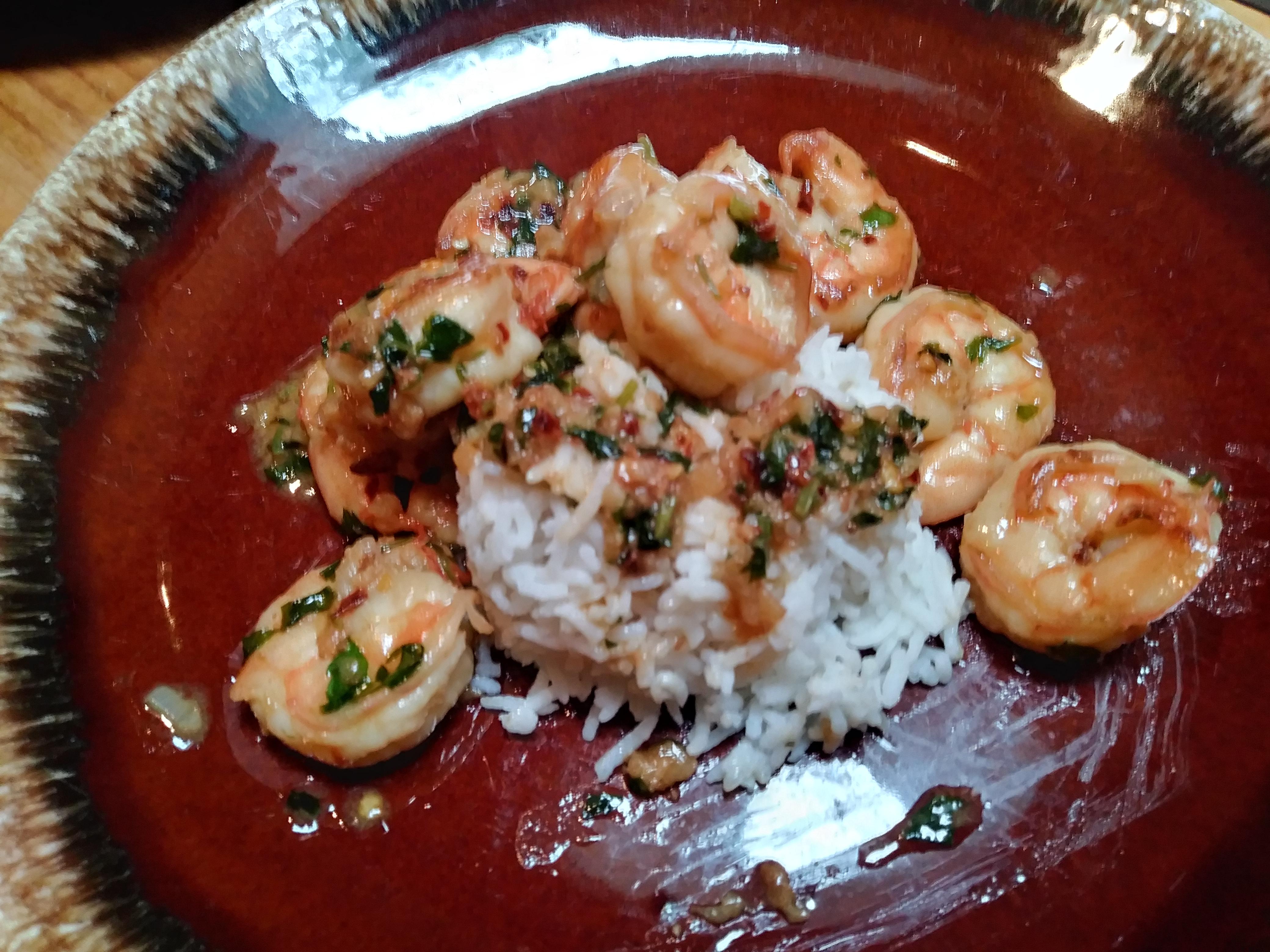 Simple Garlic Shrimp PS1318