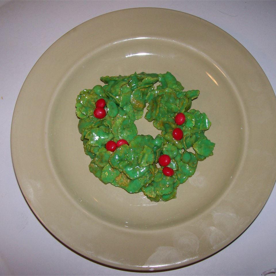Holly Christmas Cookies Jeanie Rzepka Stenson