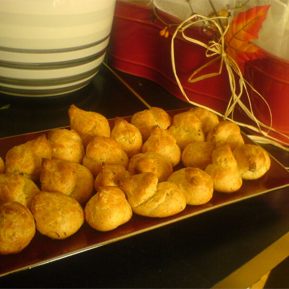 Cheese Puffs (Gougeres) Carolyn Bunkley