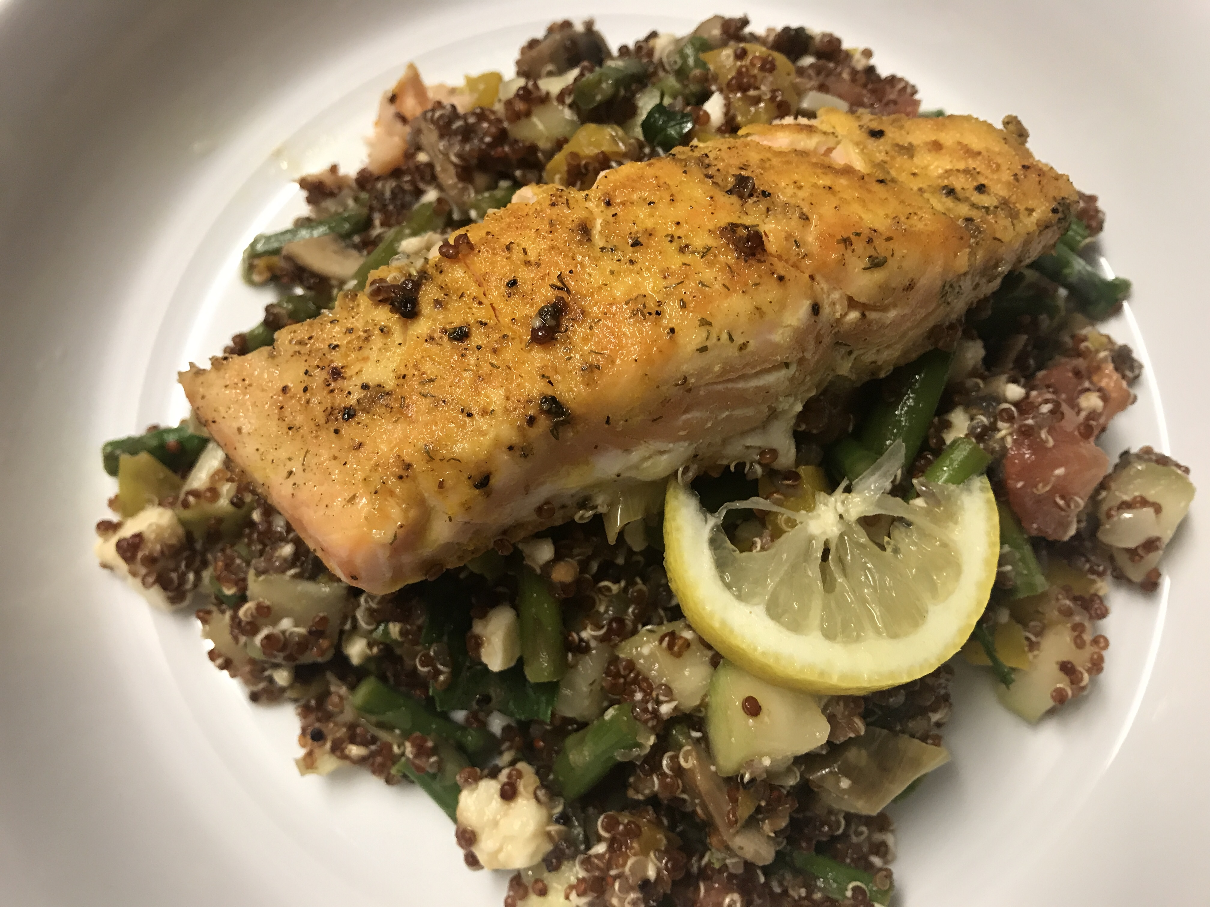 Quinoa, Asparagus, and Feta Salad bbright66