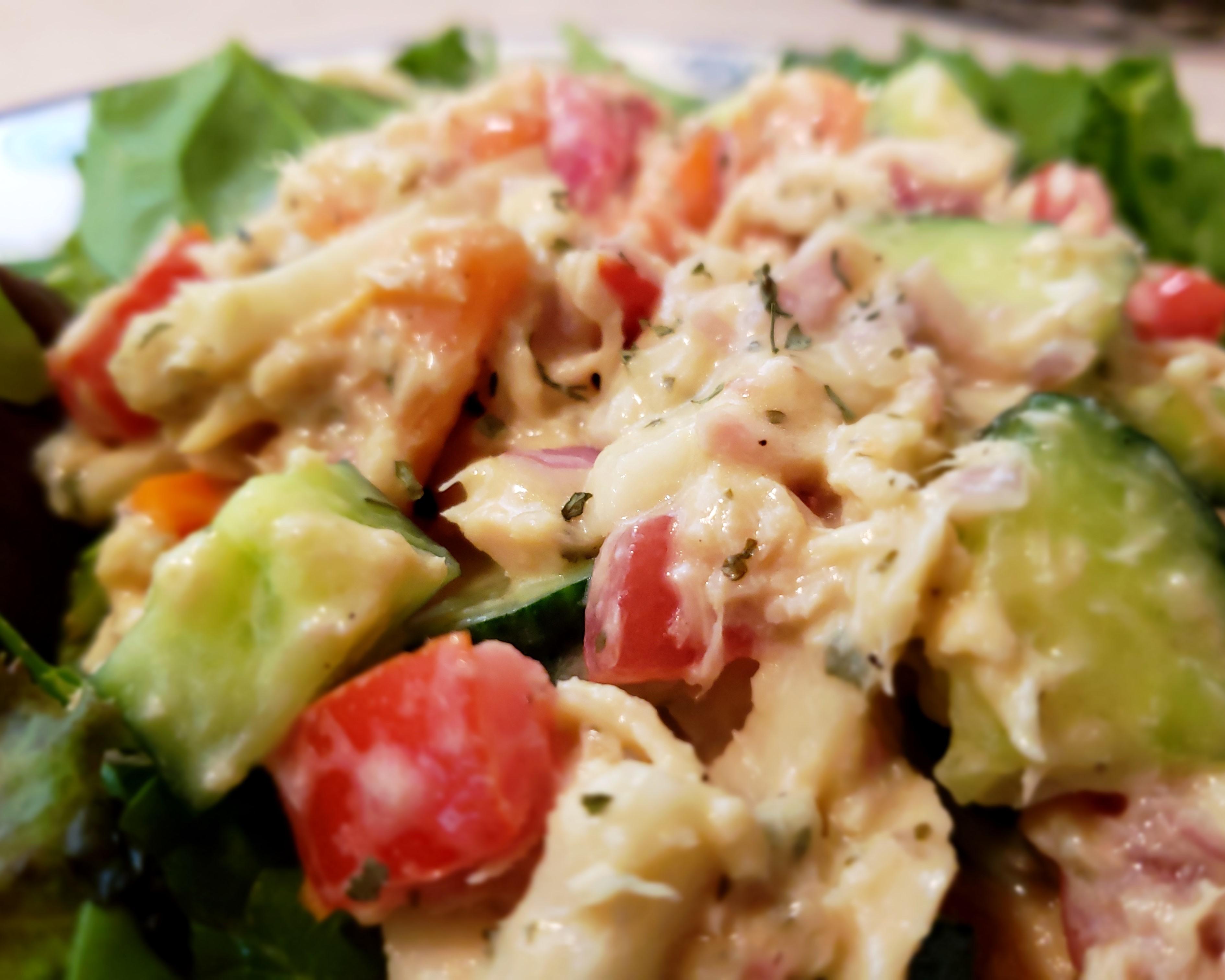 Stacy's Crunchy Tuna Salad Stacy Scott-Calcagni