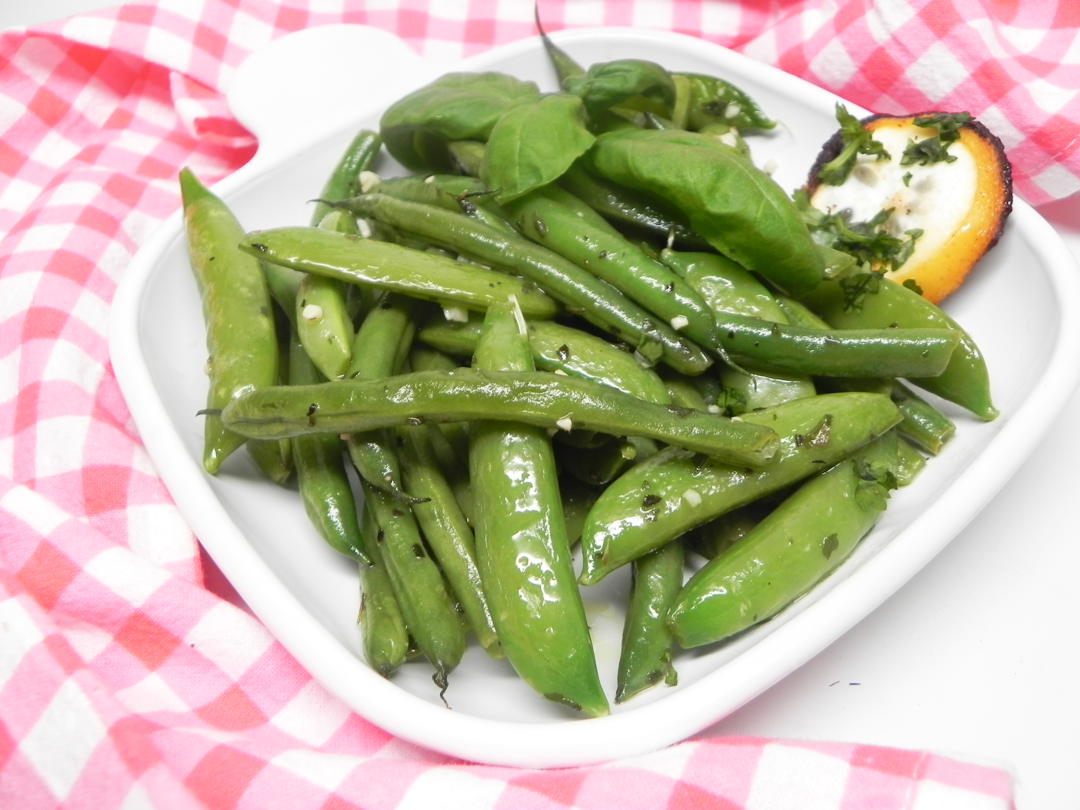 Sauteed Sugar Snap Peas and Green Beans Soup Loving Nicole