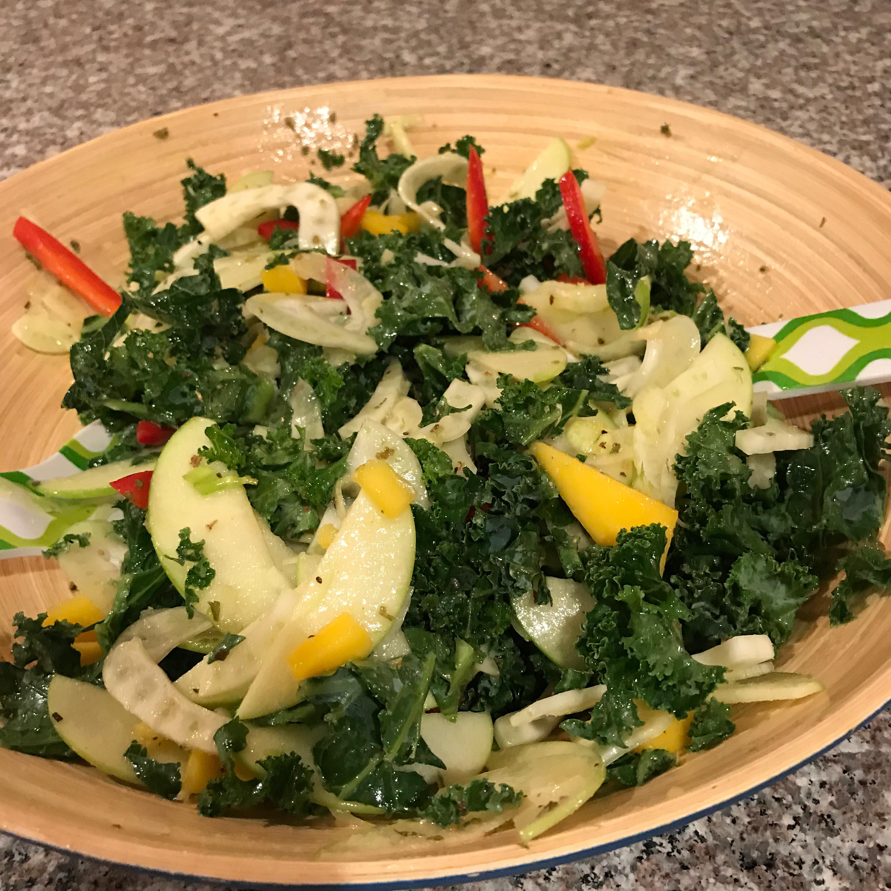 Fennel Apple Salad Elinor Pullman