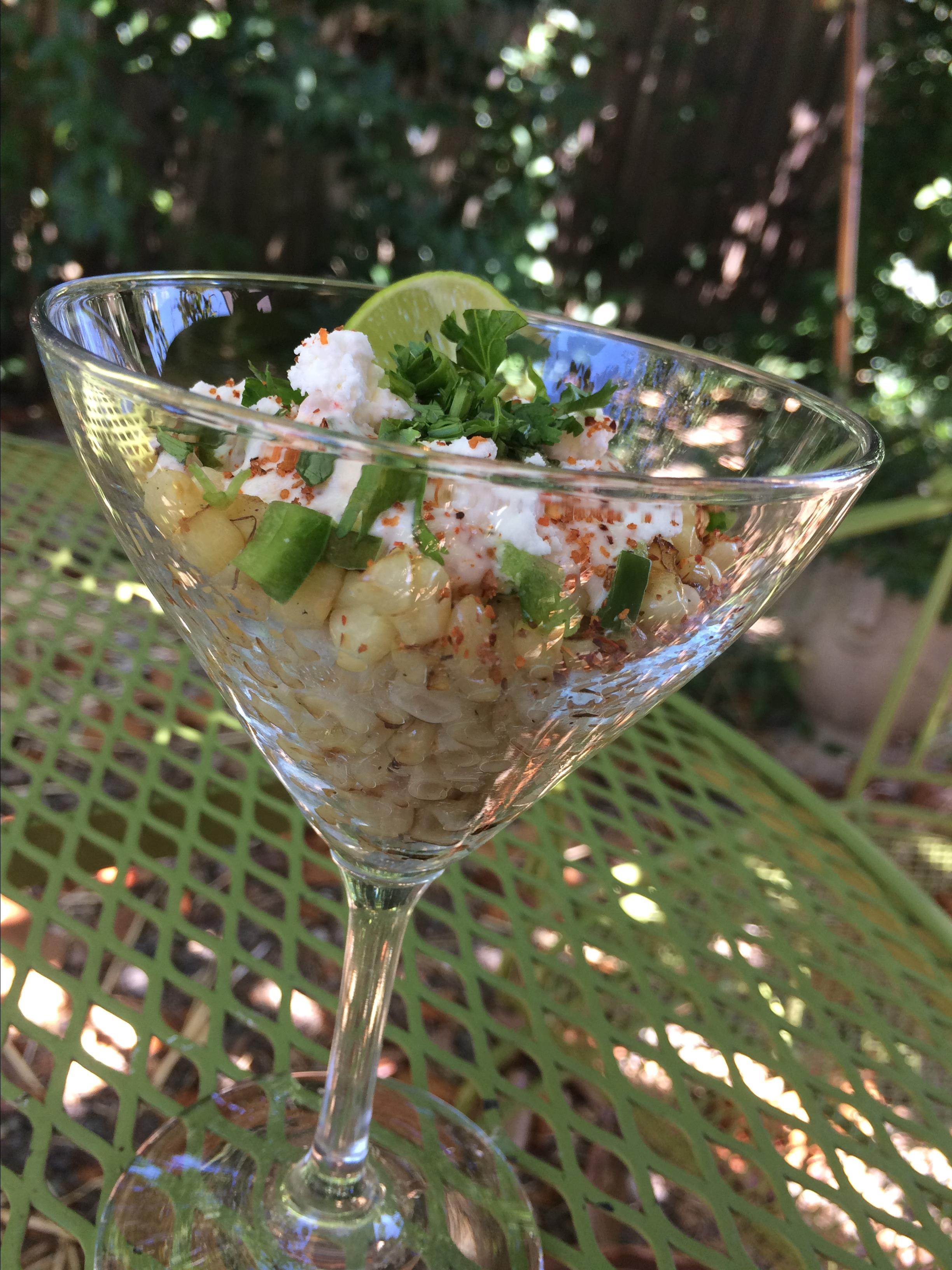 Esquites (Mexican Elotes Salad)