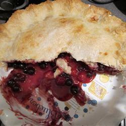 Cherry-Blueberry Pie MEGSMIAMIU