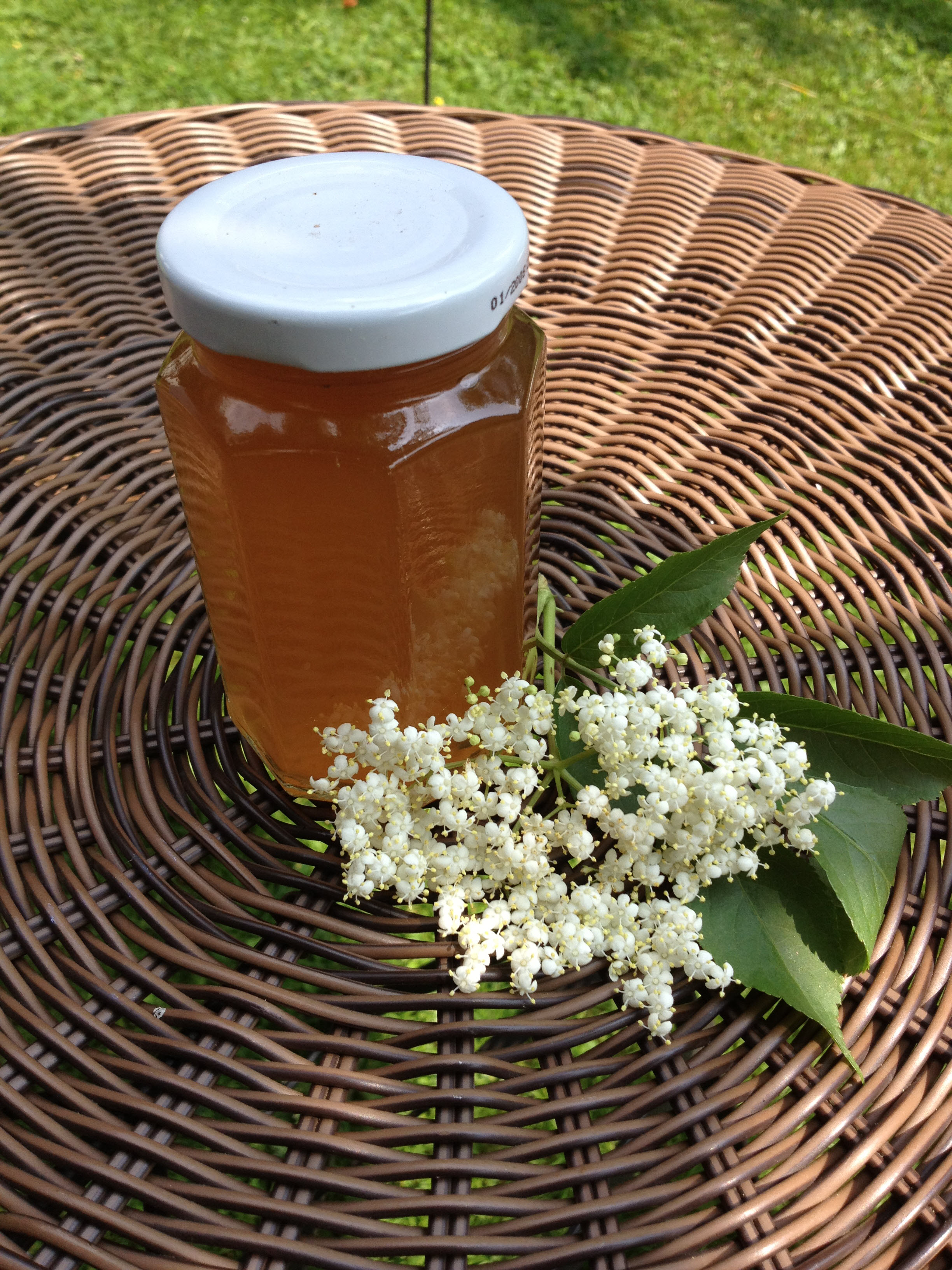 Elderflower Apple Jelly