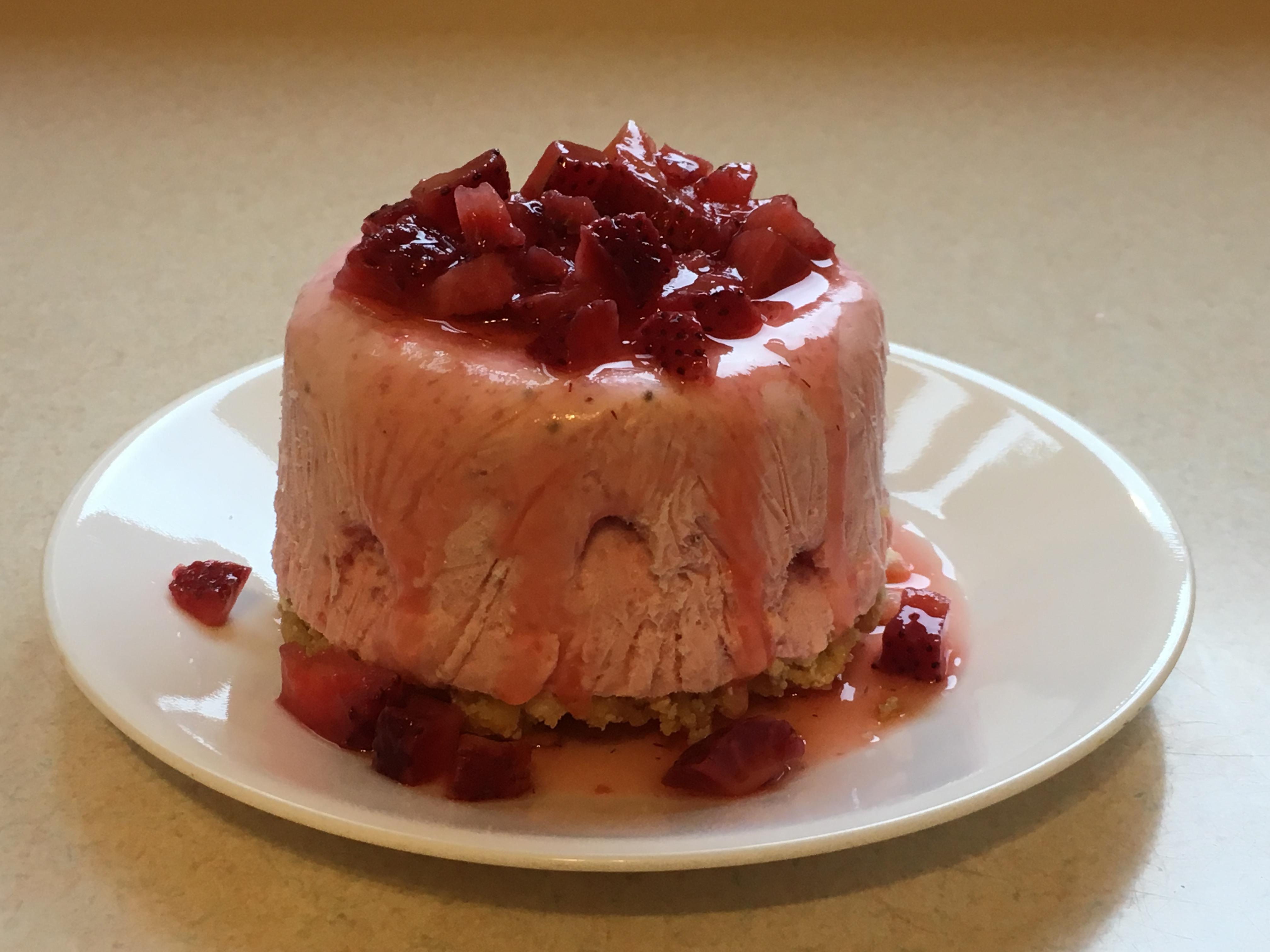 Chef John's Strawberry Semifreddo wheezer
