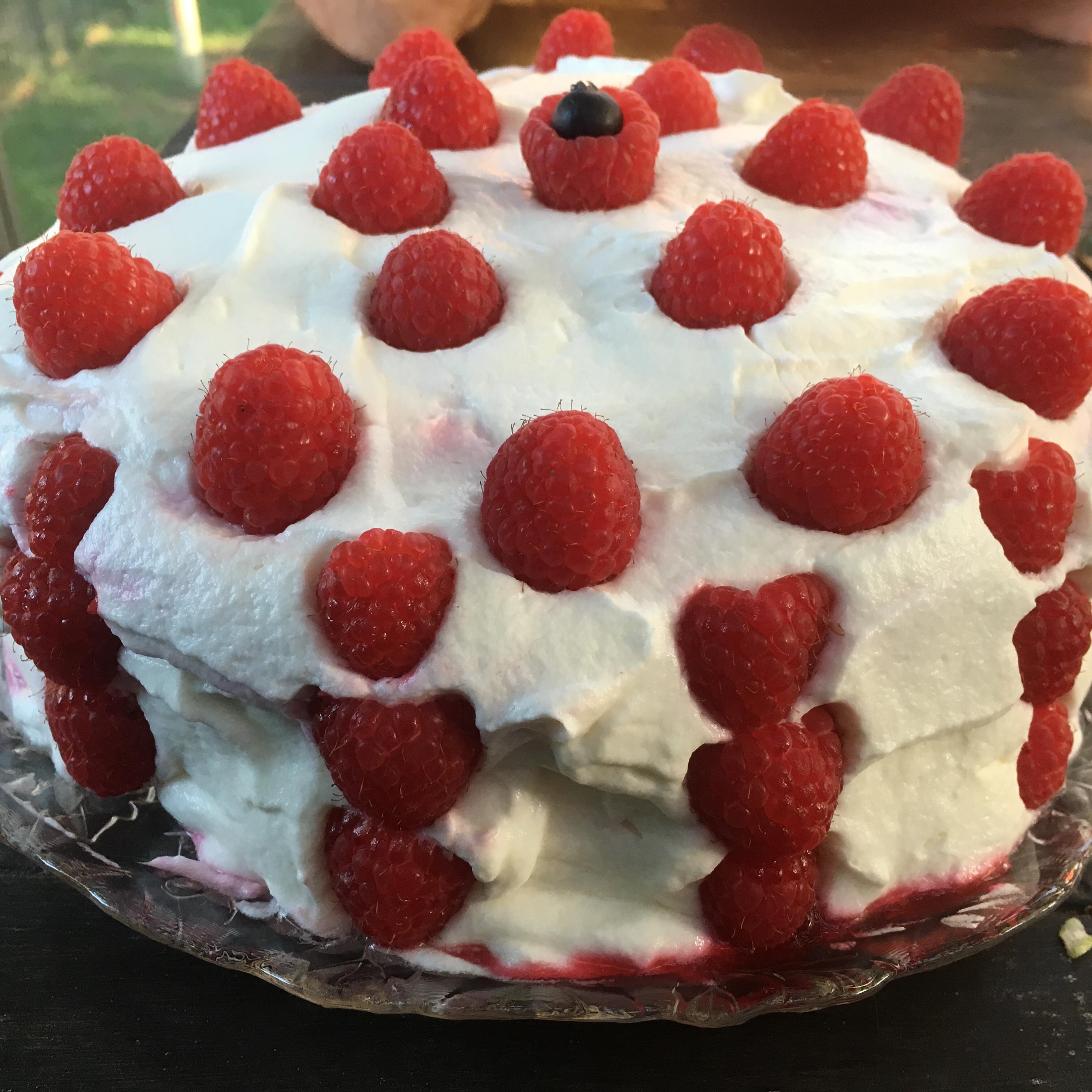 Low-Fat Lemon Raspberry Cake Alex