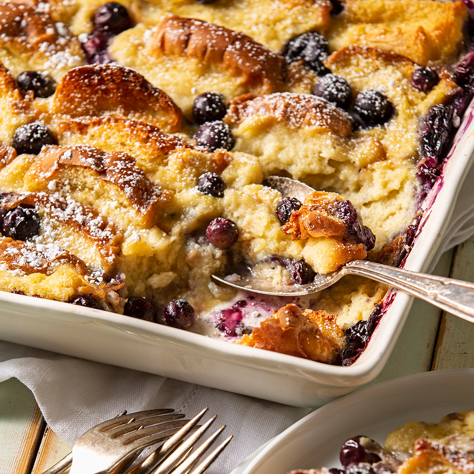 Blueberry Almond Overnight French Toast