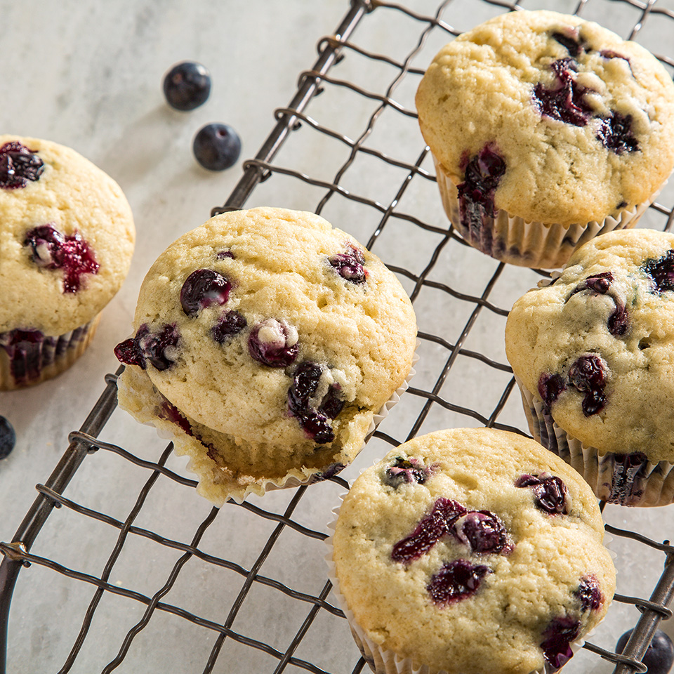 Breeze Blueberry Muffins