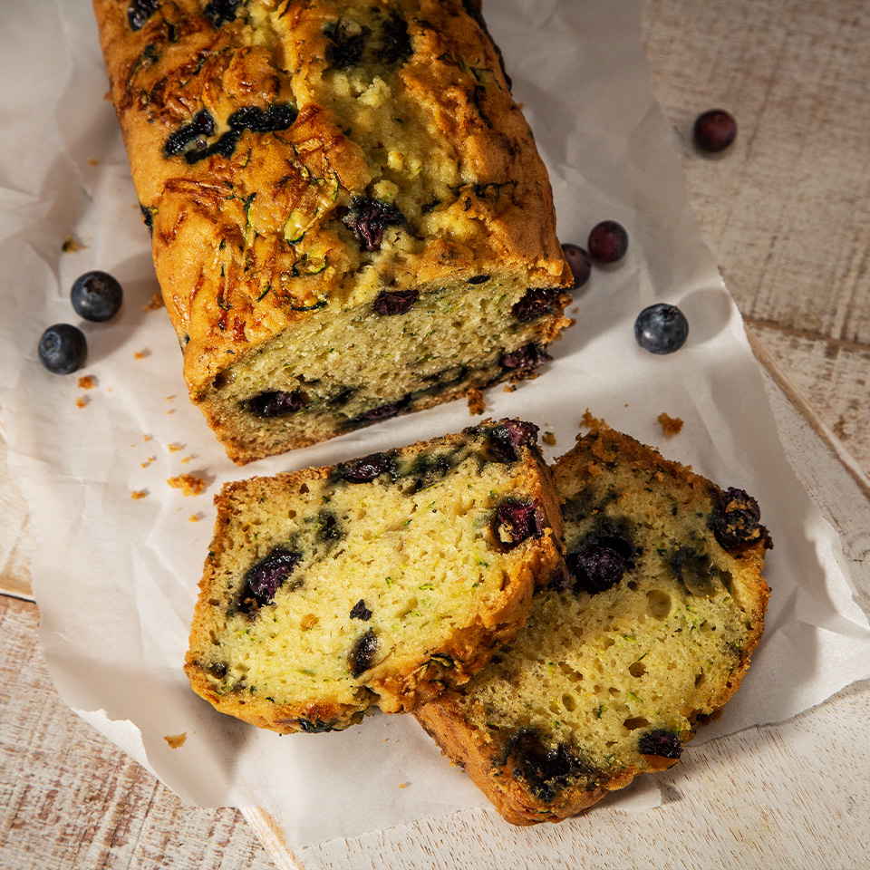 Breeze Blueberry Zucchini Bread