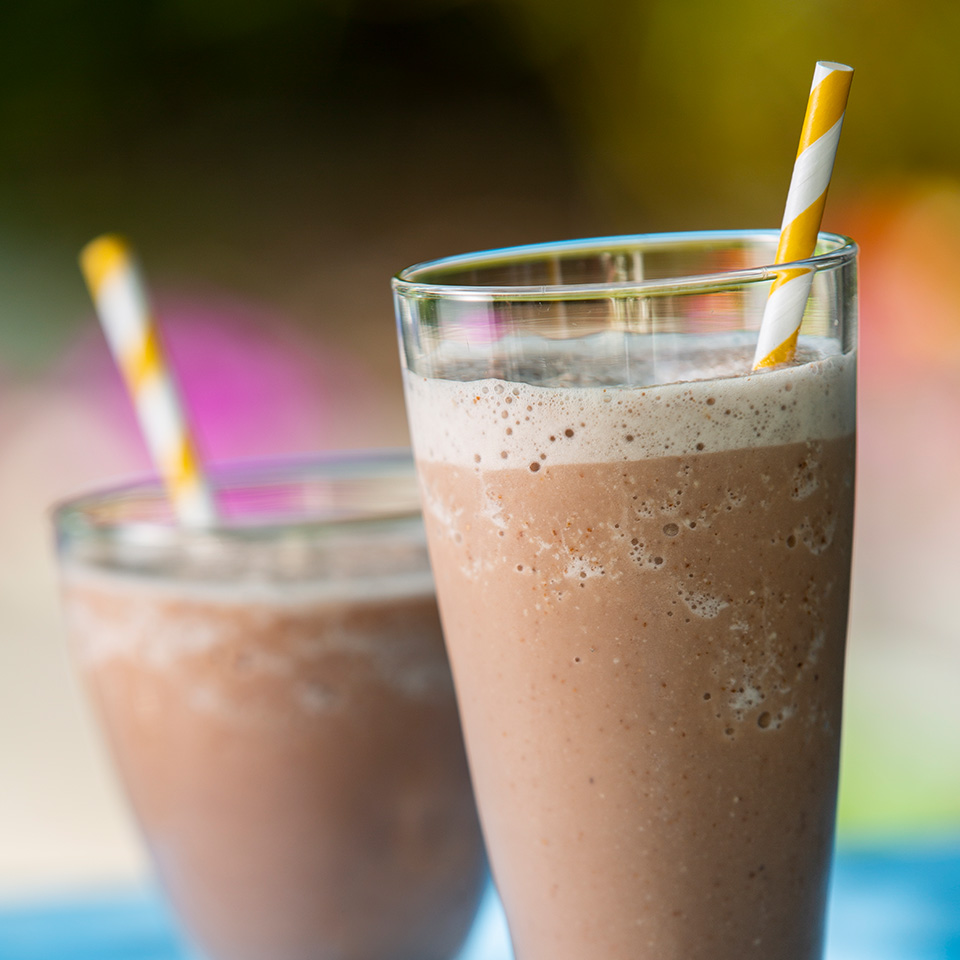 Chocolate Almond Banana Smoothie Almond Breeze