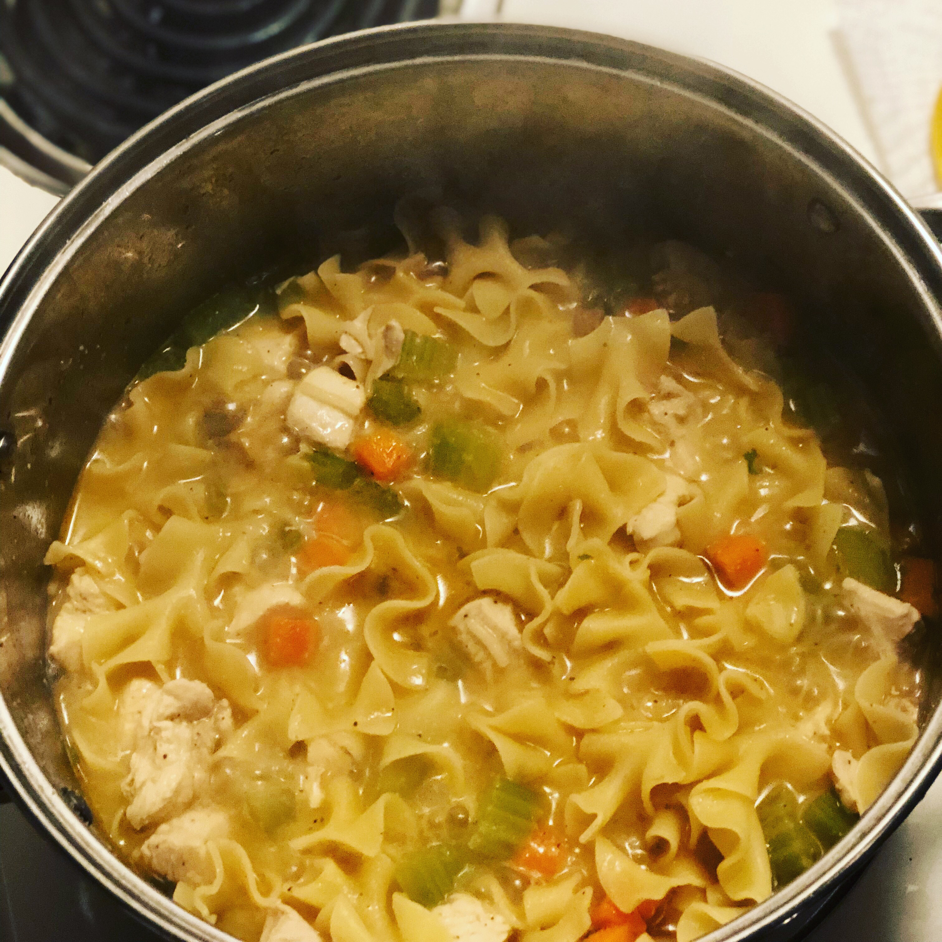 Jean's Homemade Chicken Noodle Soup