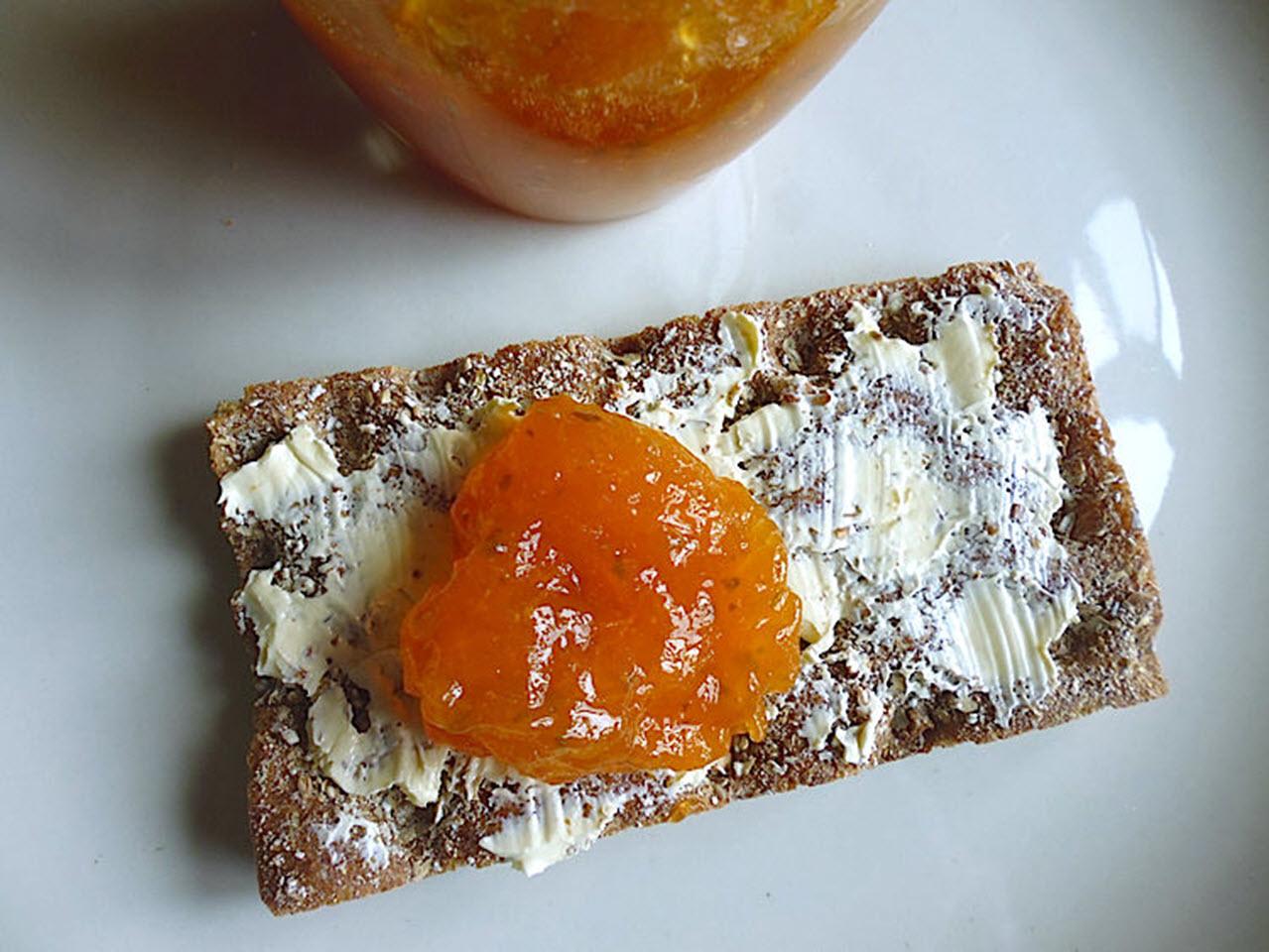 Apricot Lemon Verbena Jam
