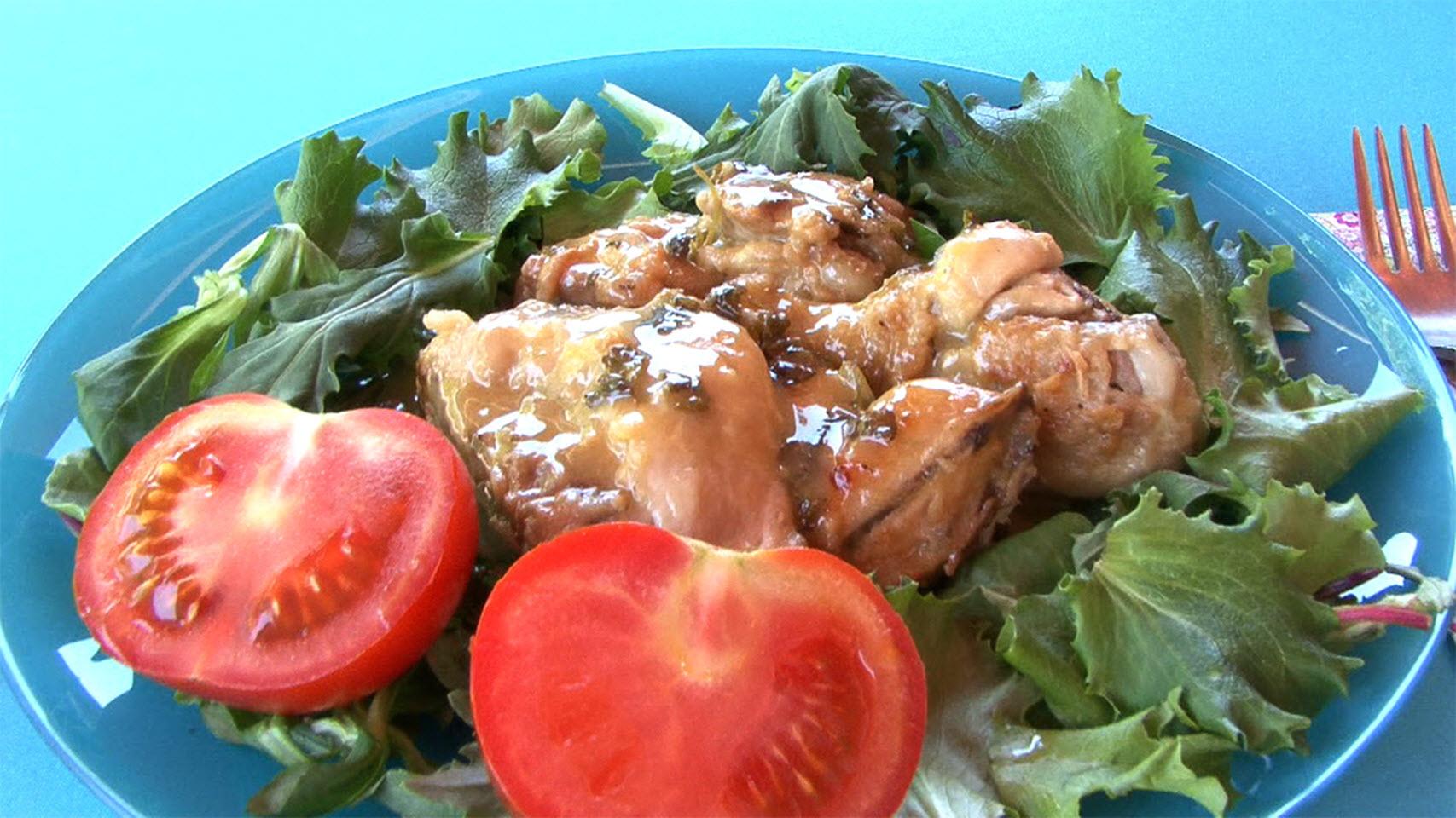 Pollo al Ajillo (Spanish Garlic Chicken) Luis Luna