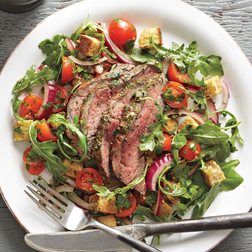 Steak and Chimichurri Salad Diabetic Living Magazine