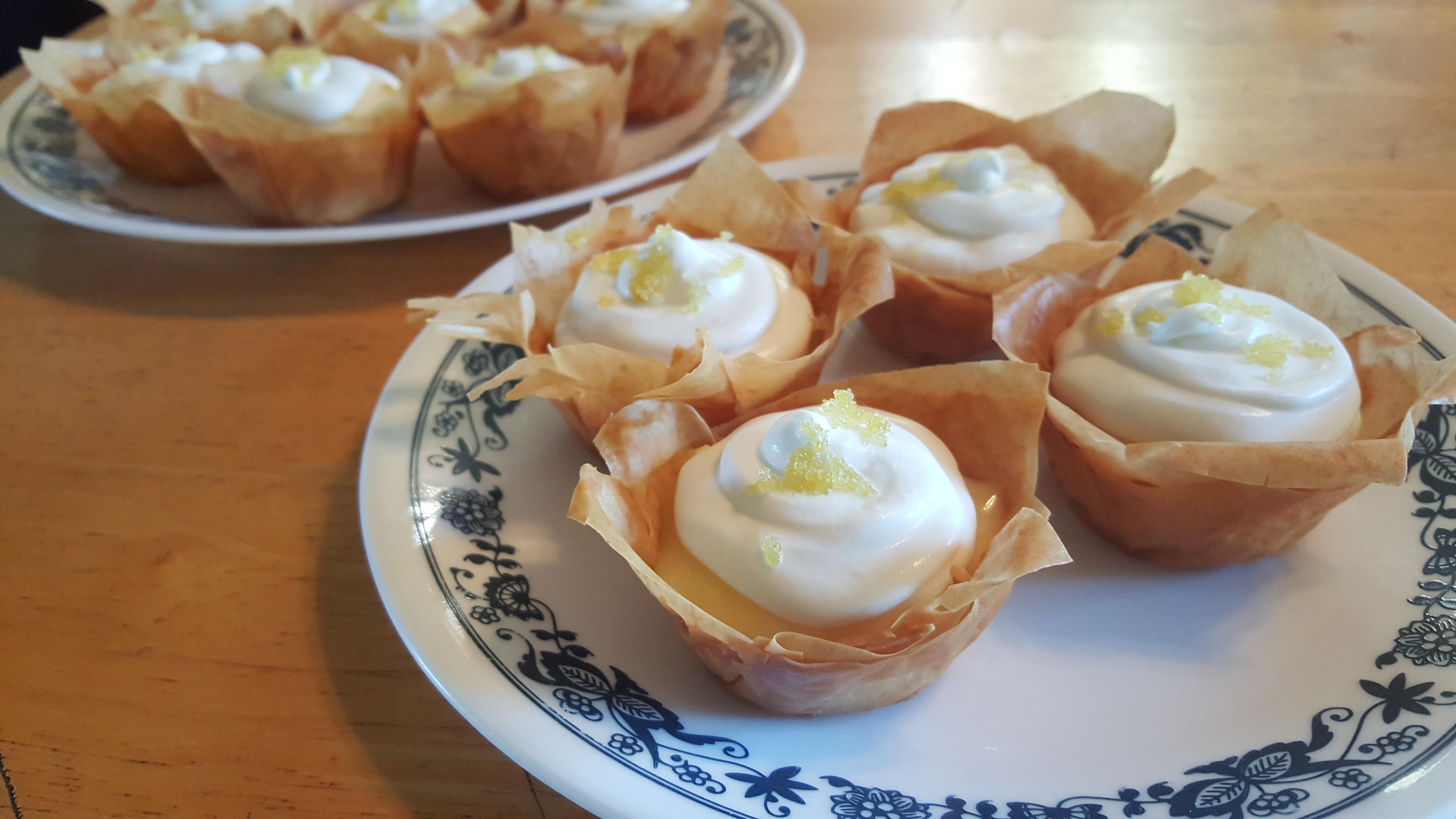 Lemon Curd Tarts Christeen Donnelly