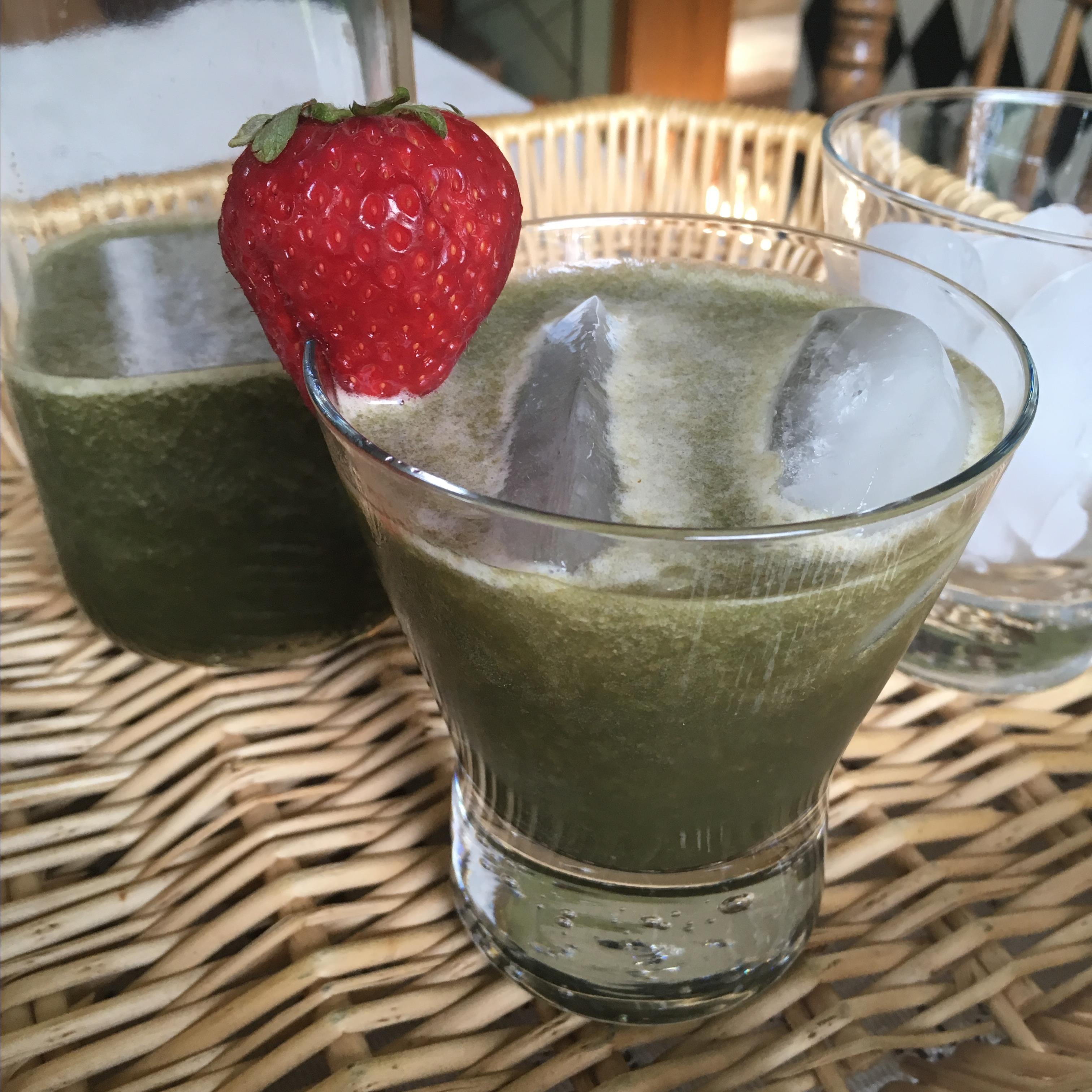Spinach Strawberry Agua Fresca Paula