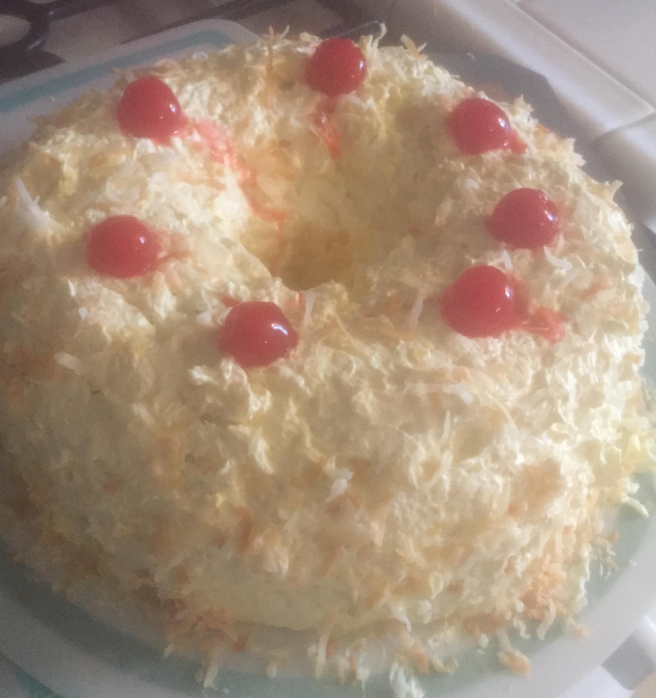 Hawaiian Frosted Cake chris