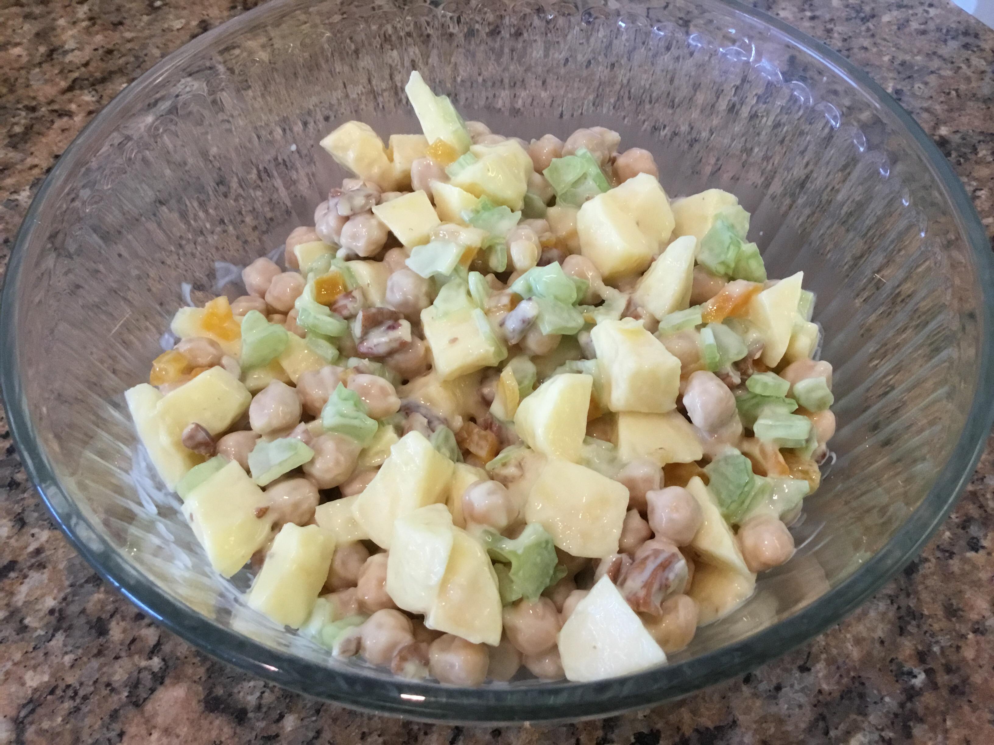 Garbanzo Bean Salad Fran
