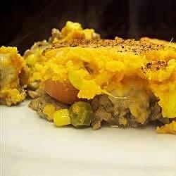 sweet potato and turkey shepherds pie recipe