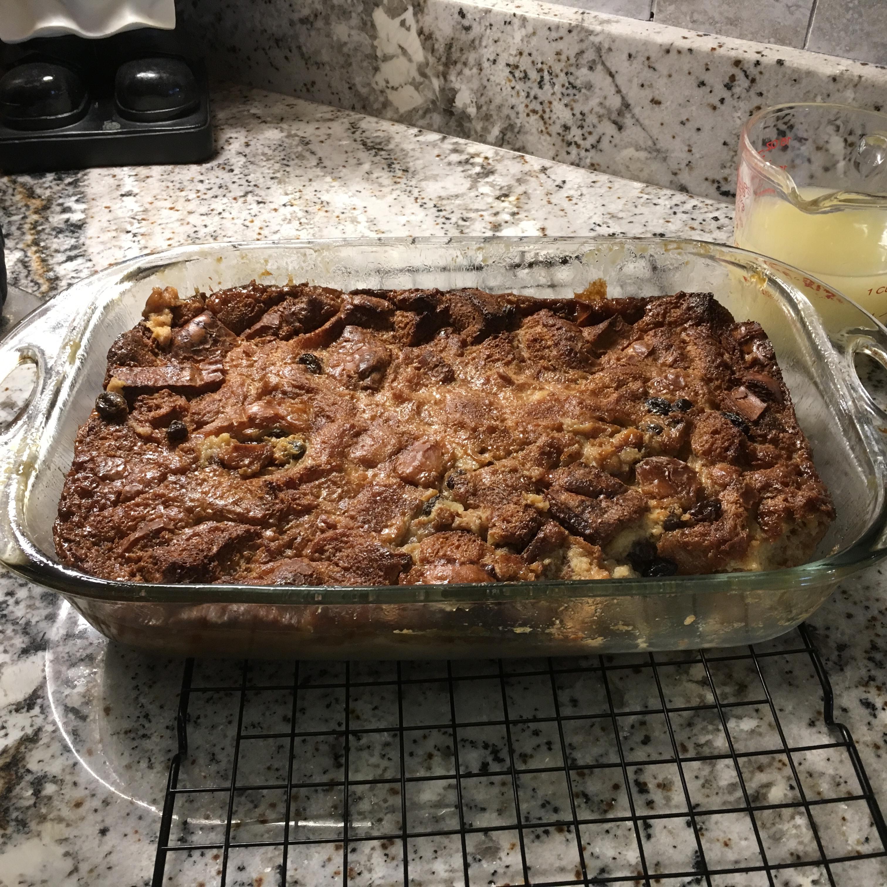 Bread Pudding with Lemon Sauce I Loetta