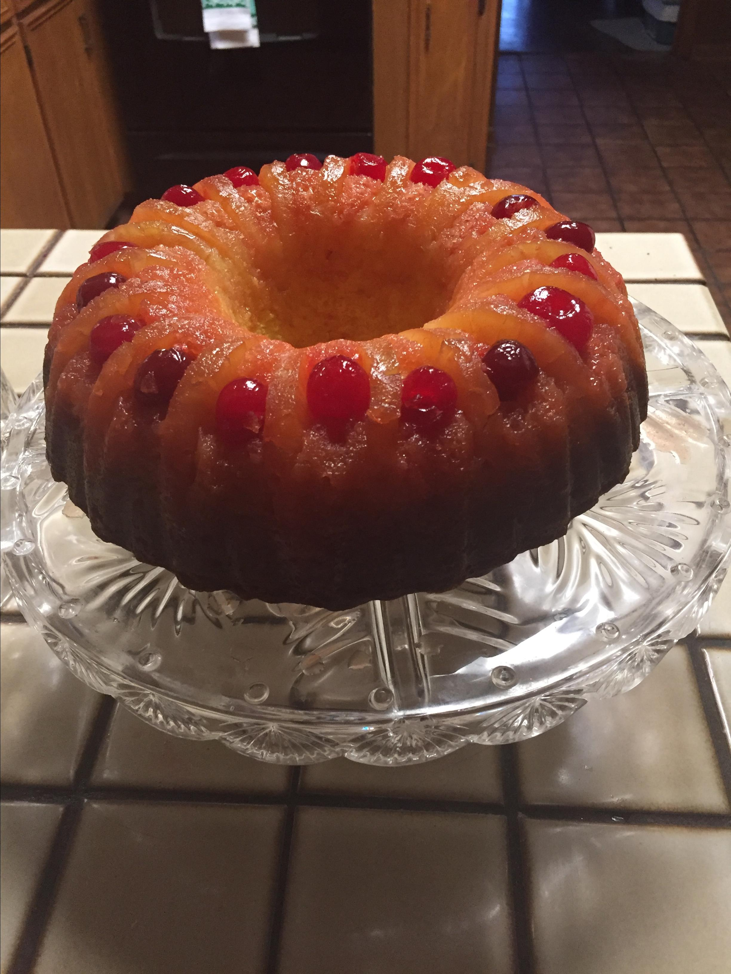 Pineapple Upside-Down Bundt® Cake