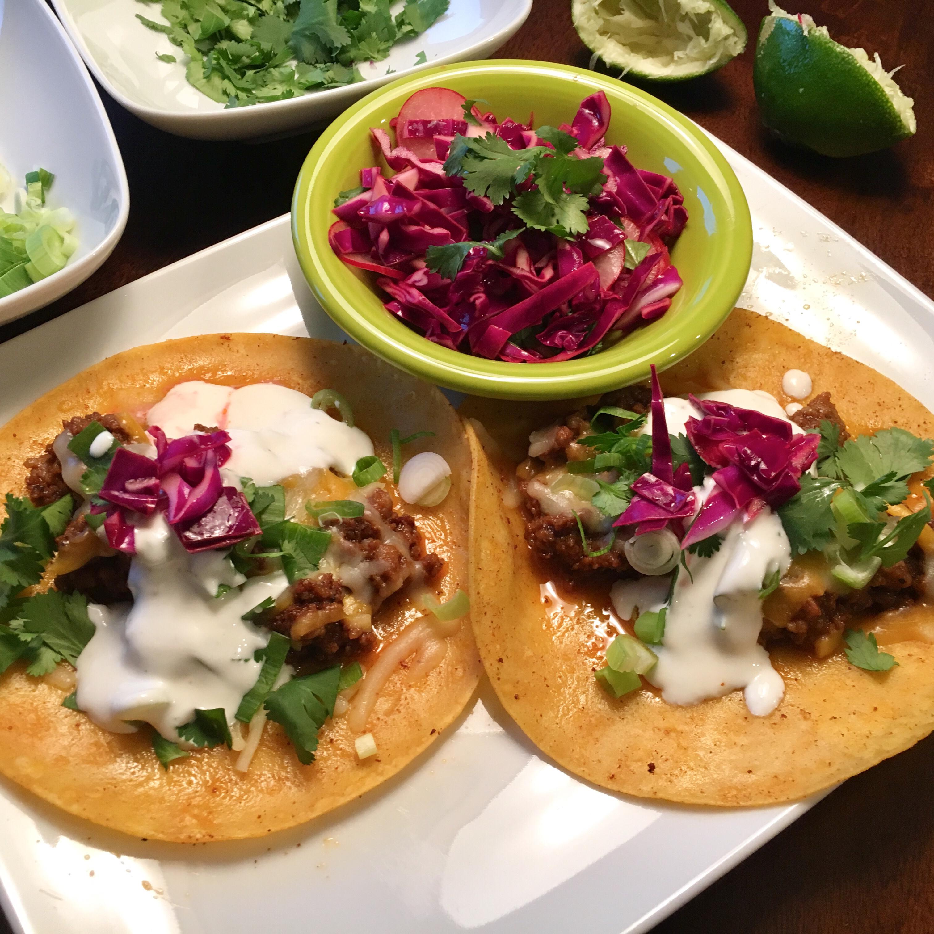 Easy Chorizo Street Tacos Mrs. WyoFish