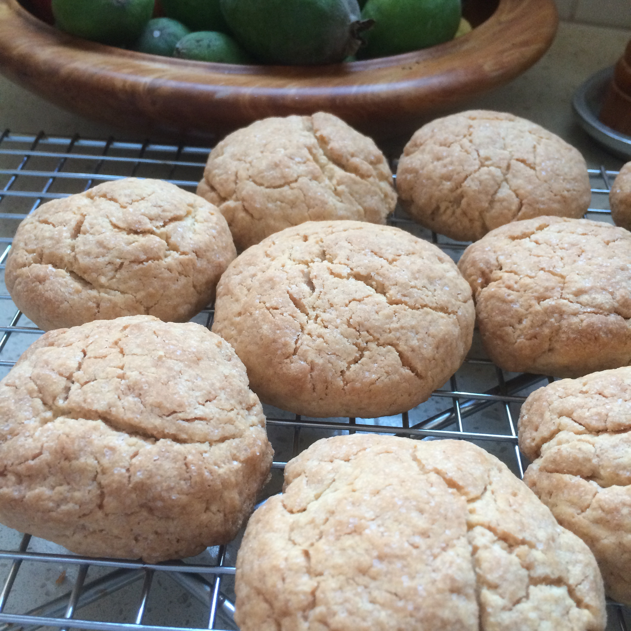 Crispy Ginger Biscuits Gwendolyn