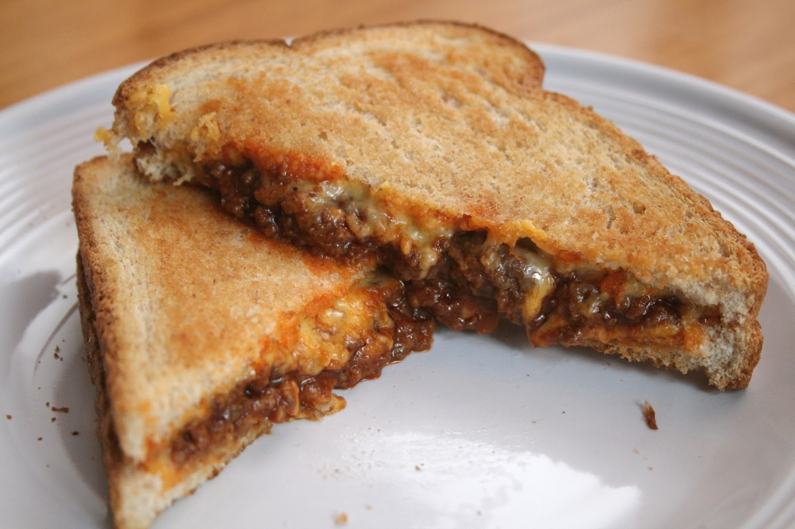 Grilled Cheese Sloppy Joes