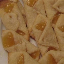 Apricot Crescent Cookies