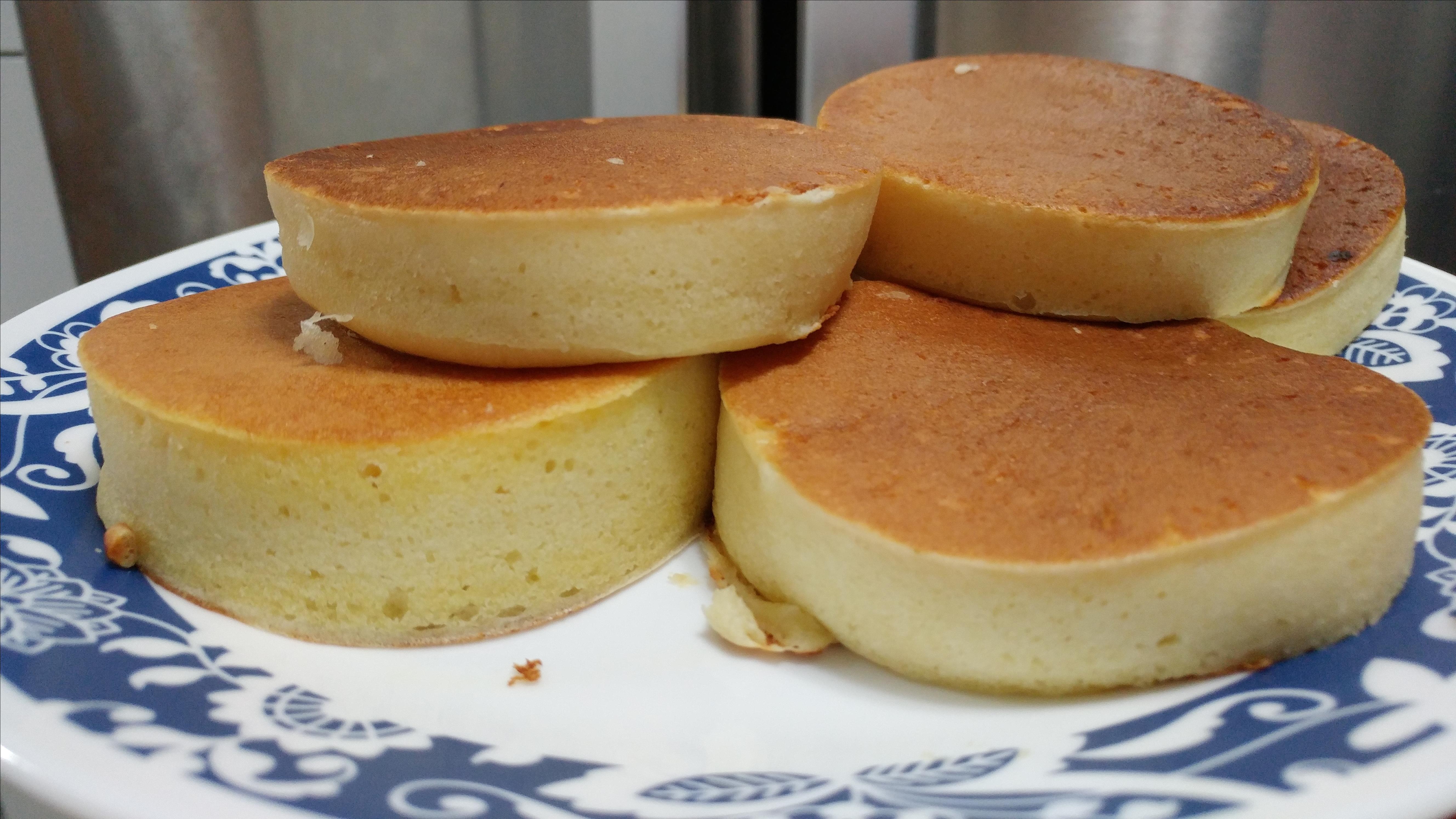 Fluffy Japanese Pancakes Kelsey Kirk