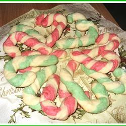 Candy Cane Cookies II