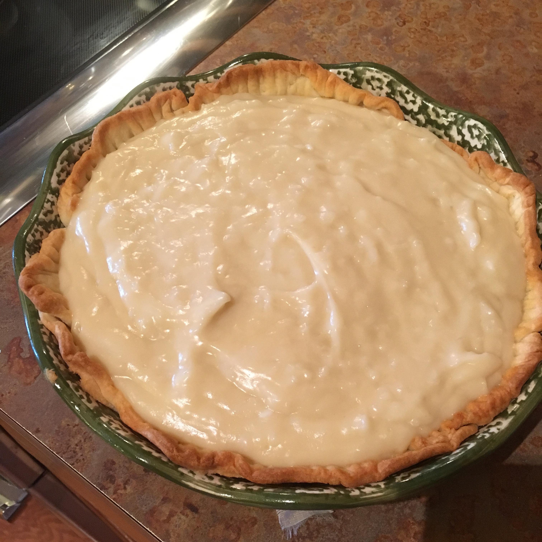 Old Fashioned Coconut Cream Pie Renee Diconzo Collins