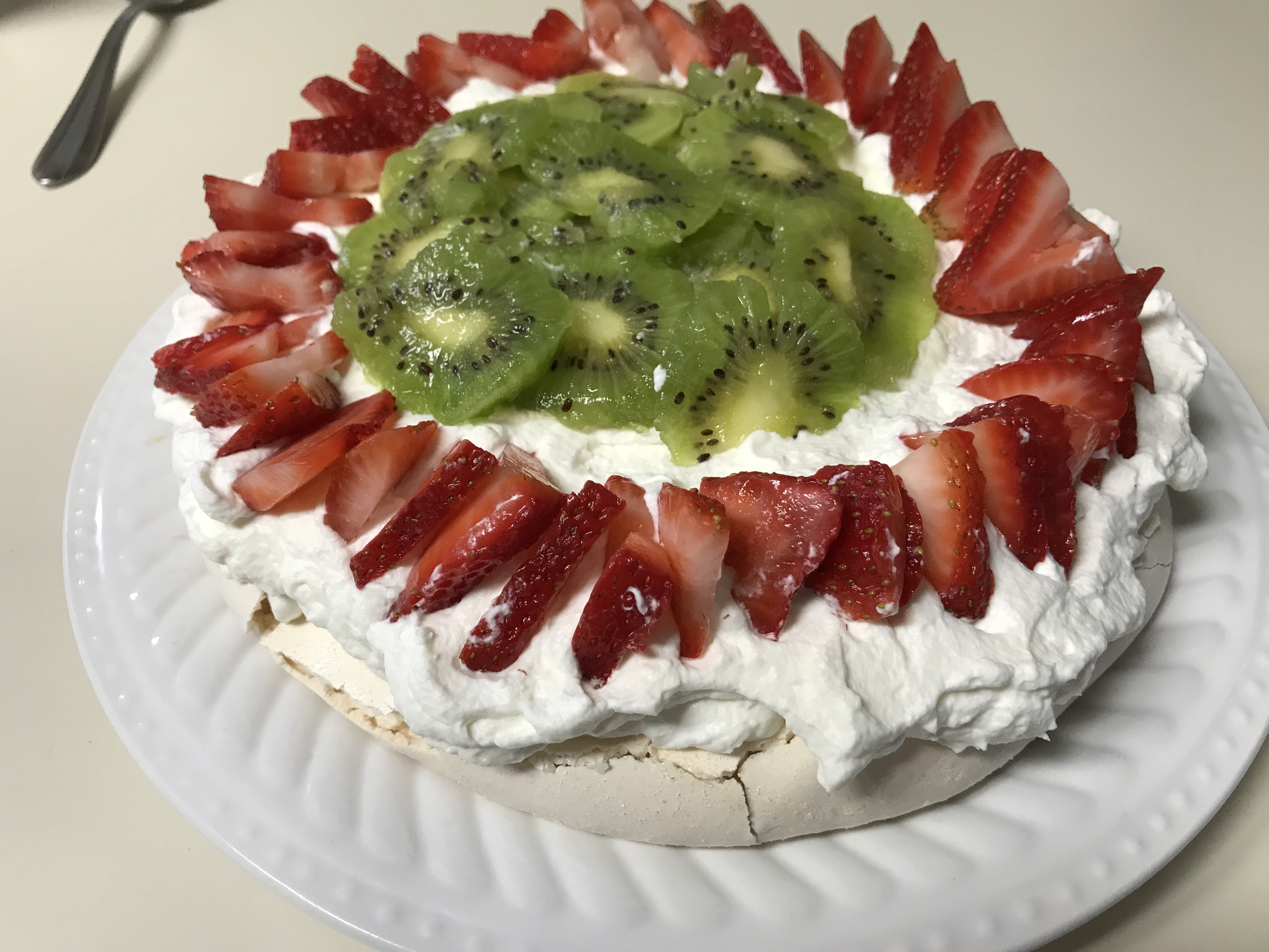 Chef John's Pavlova with Strawberries jennifer moore