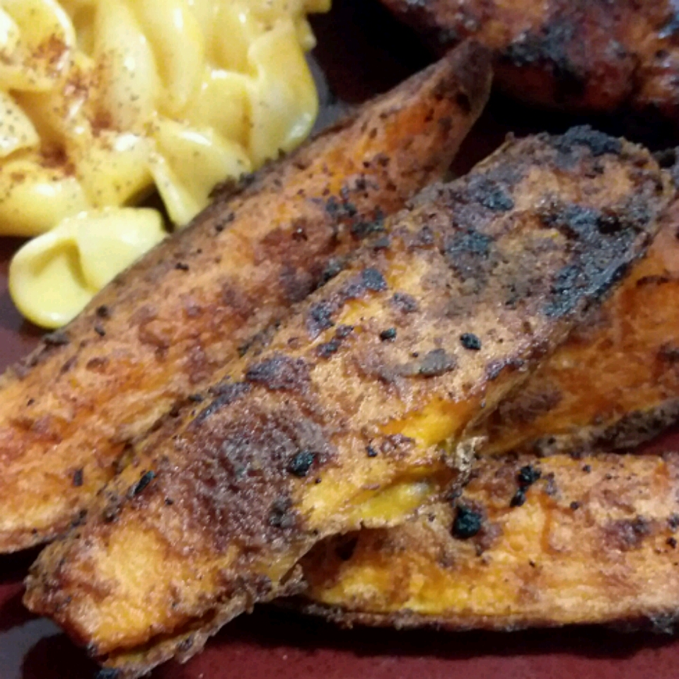 Grilled Chipotle Sweet Potatoes bmacon6986